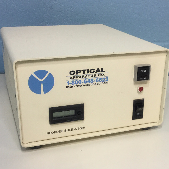 Optical Apparatus Co. Mercury-100W Lamp Power Supply Image
