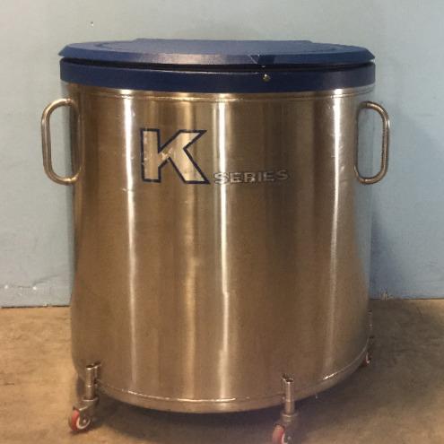 33K Liquid Nitrogen Tank