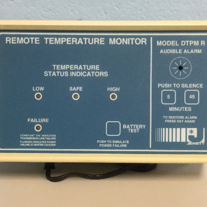 LDC Analytical DTPM R Remote Temperature Monitor Image