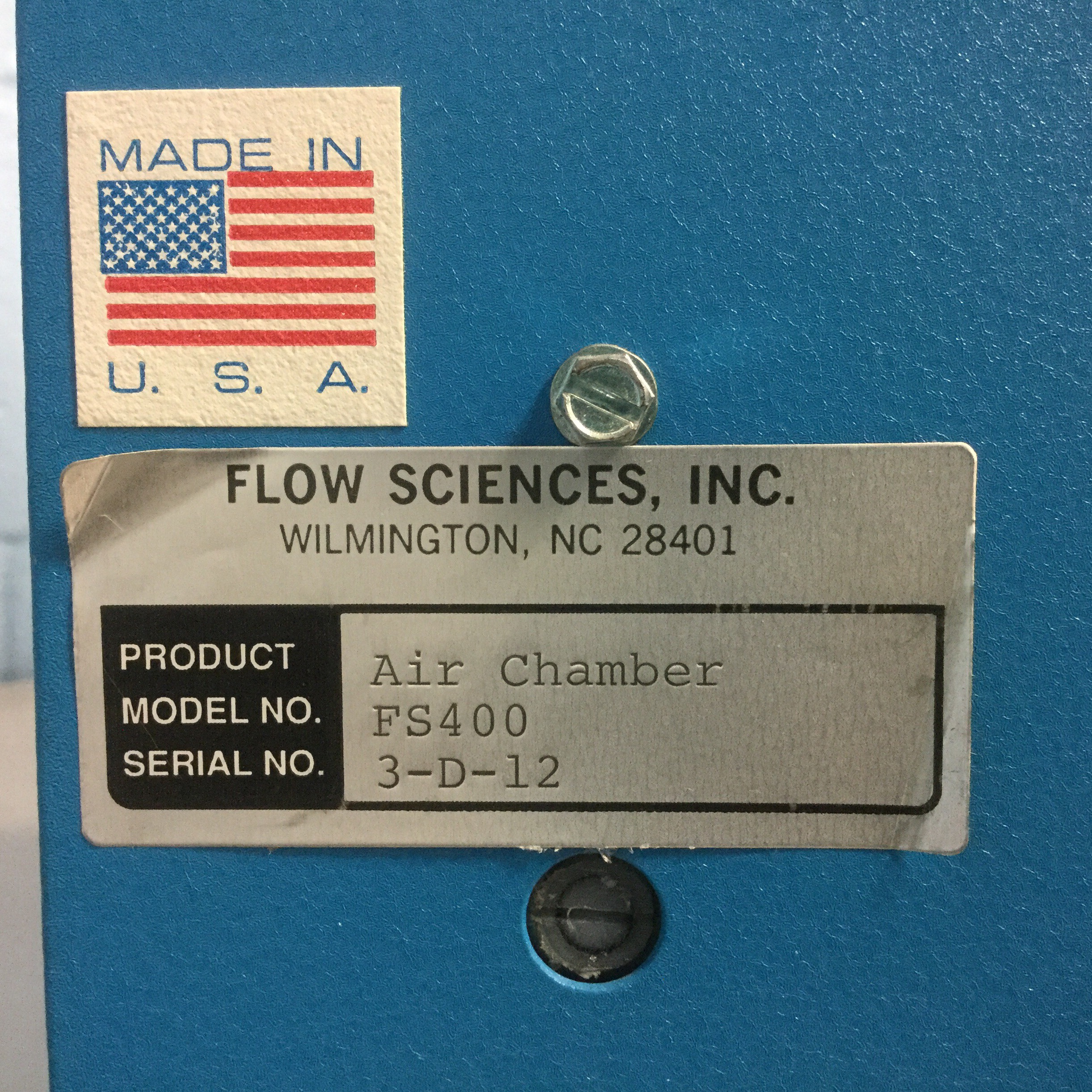 Flow Sciences Model FS400 Image