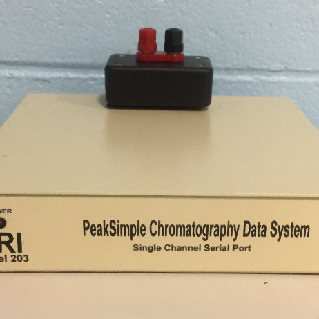 SRI PeakSimple Chromatography Data System Single Channel Serial Port Model 203 Image