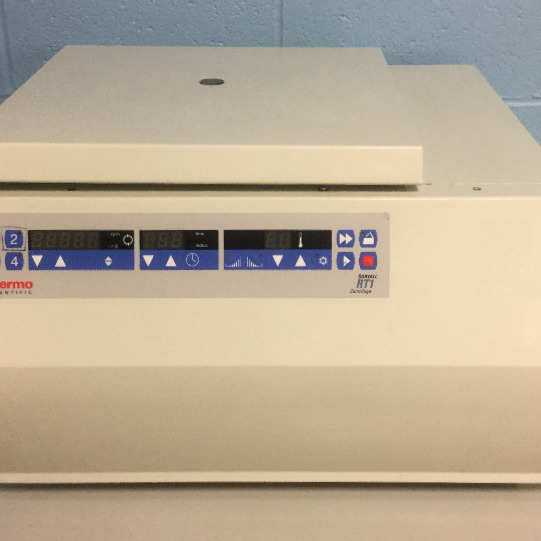 Sorvall RT1 Refrigerated Benchtop  Centrifuge Name