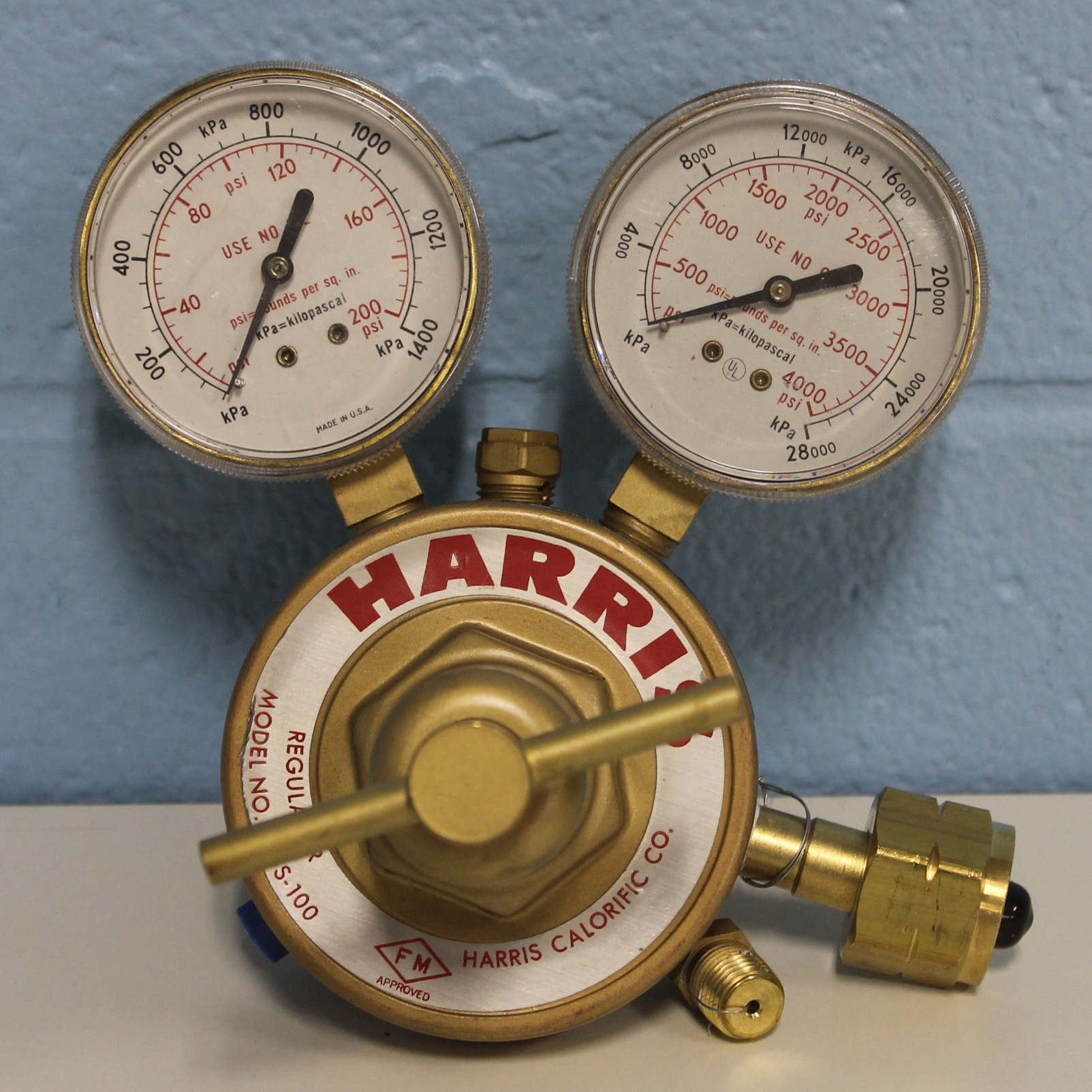 Harris 92SS-100 Hydrogen Gas Regulator Image
