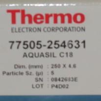 Thermo AQUASIL C18 Column Image