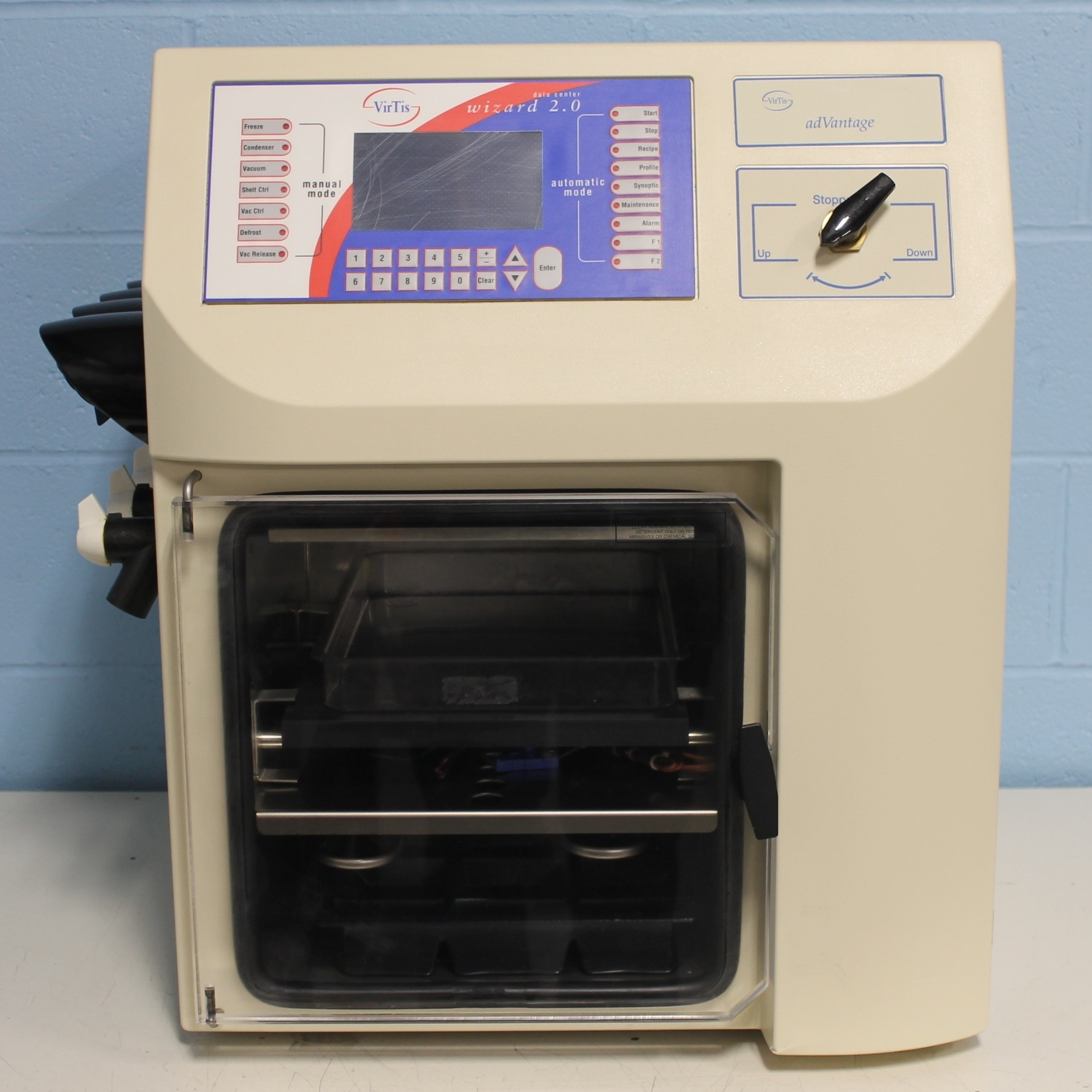 AdVantage Plus BenchTop Freeze Dryer Model XL-70 Name