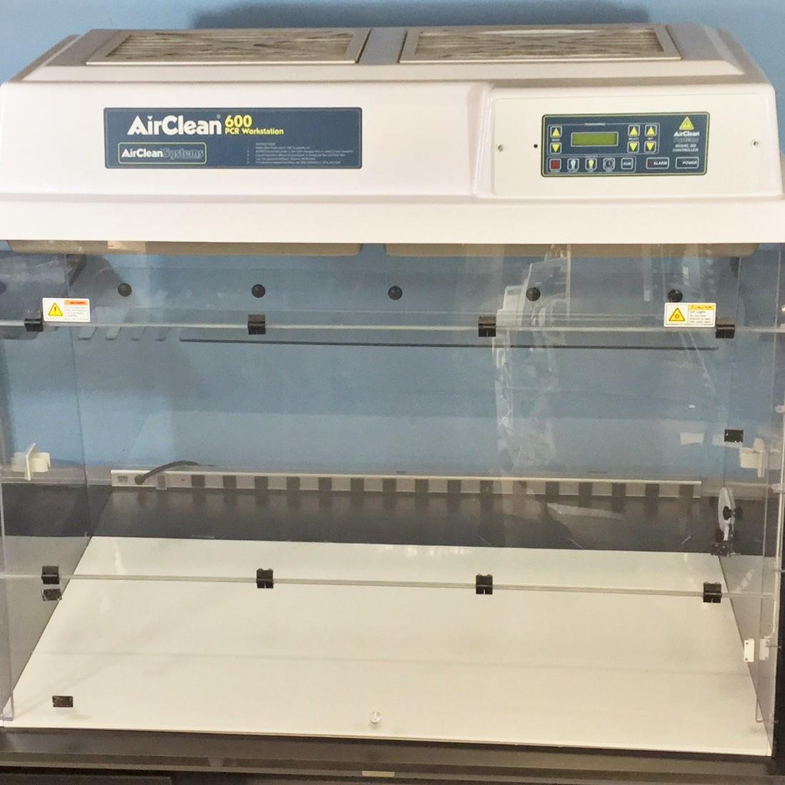 600 PCR Workstation Model AC648TLFUVC