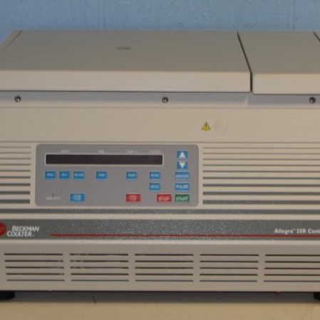 Beckman Coulter Allegra 25R Refrigerated Benchtop Centrifuge Image