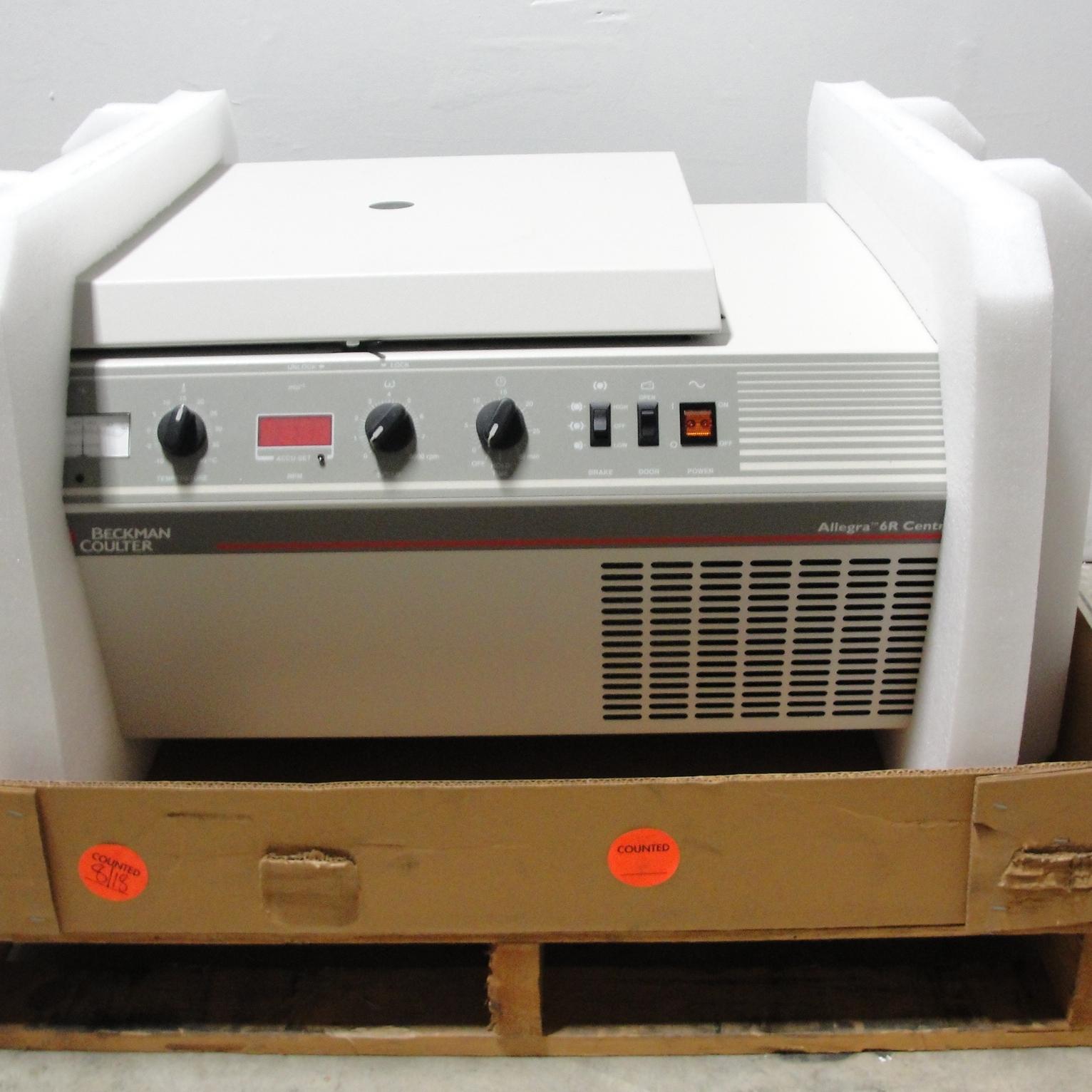 Allegra 6R Refrigerated Benchtop Centrifuge 230 V 50 Hz Name