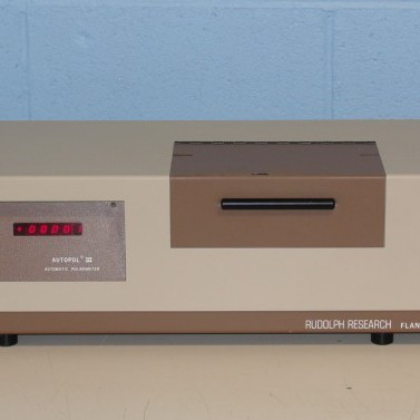 Rudolph Research Analytical AutoPol III Automatic Polarimeter Image