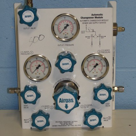 Airgas Automatic Changeover Module. P/N E13-CP145DLP Image