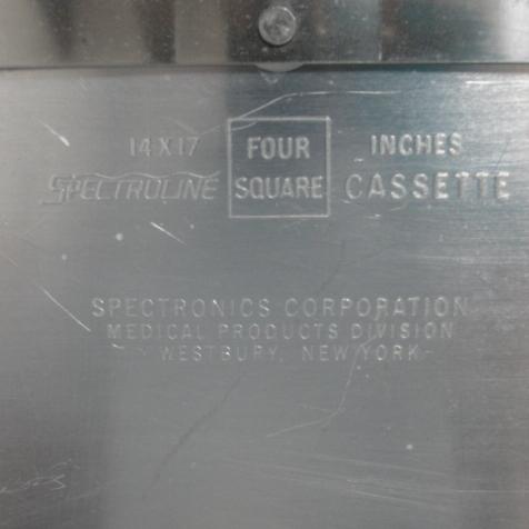 SpectroLine Autoradiography Cassette 14X17 Image