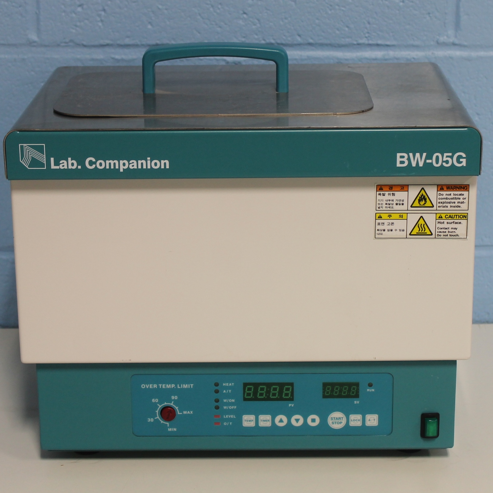 Lab Companion BW-05G 5 liter Heating Bath Image