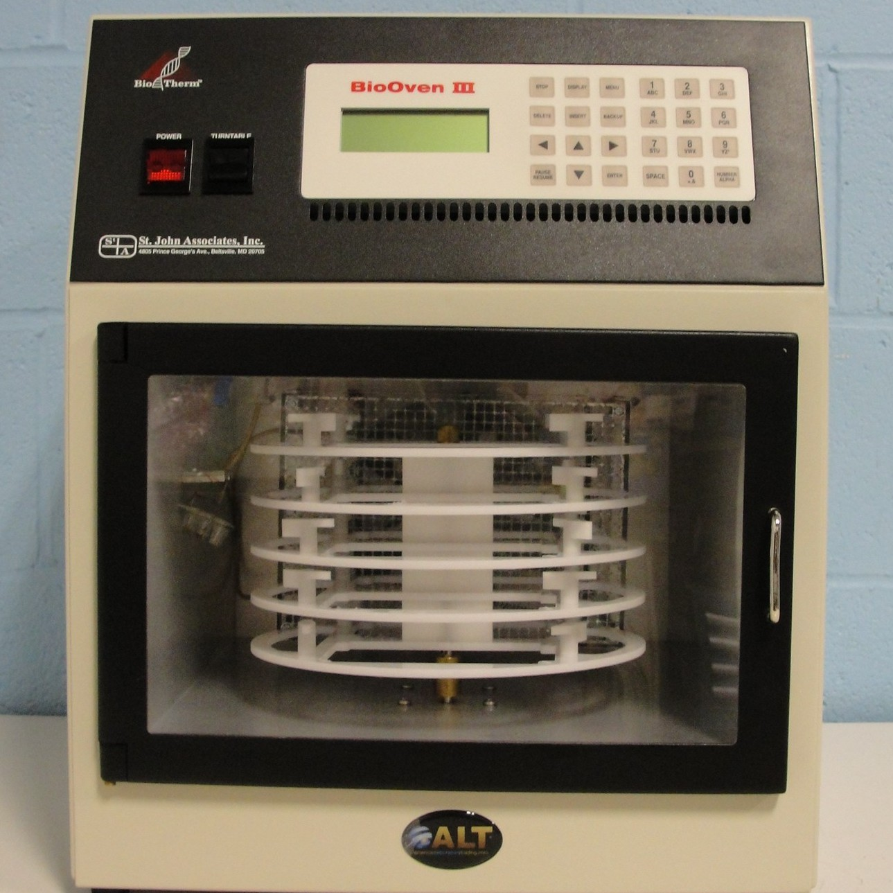 BioOven III Thermocycler Name