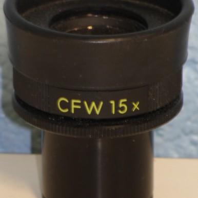 Nikon CFW 15x Microscope Eyepiece Image
