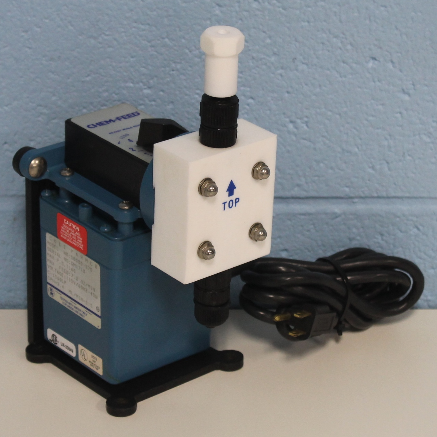Cole-Parmer CHEM-FEED Injector Pump Model 50000-370 Image