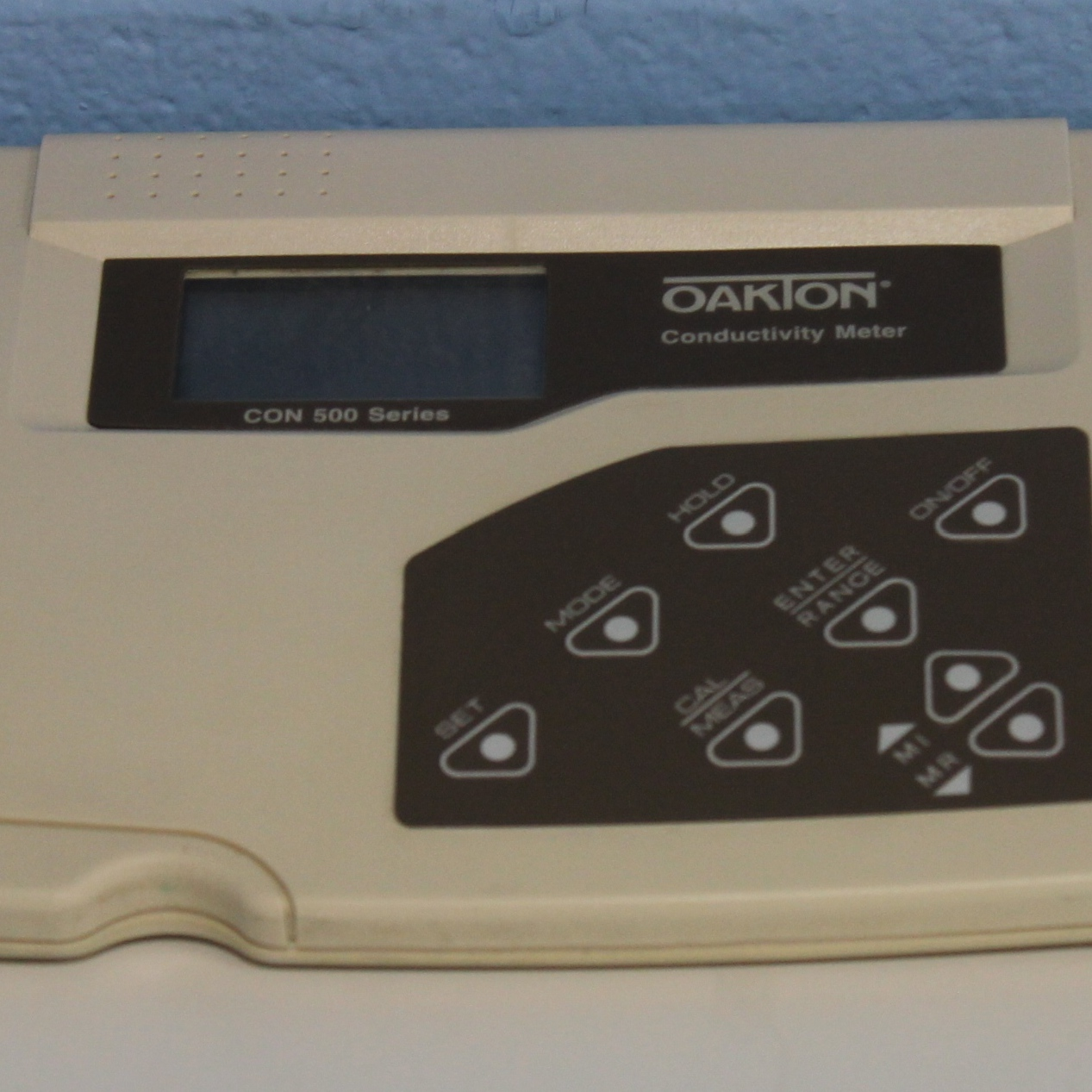 CON 500 Benchtop Conductivity Meter Name