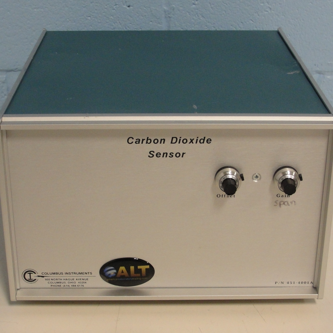 Columbus Instruments Carbon Dioxide Sensor Model CO2 Sensor Image