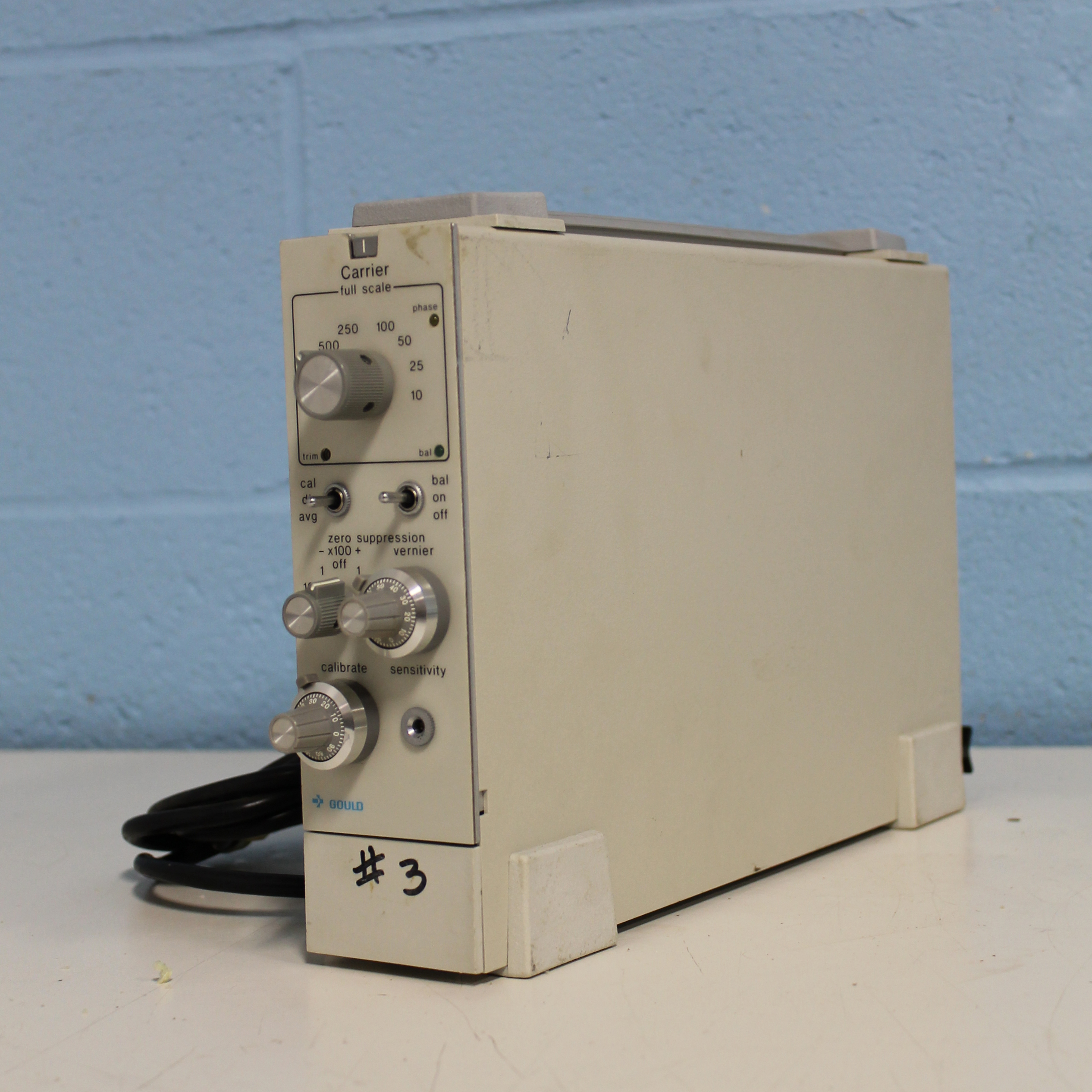 Gould Carrier Amplifier DC Image