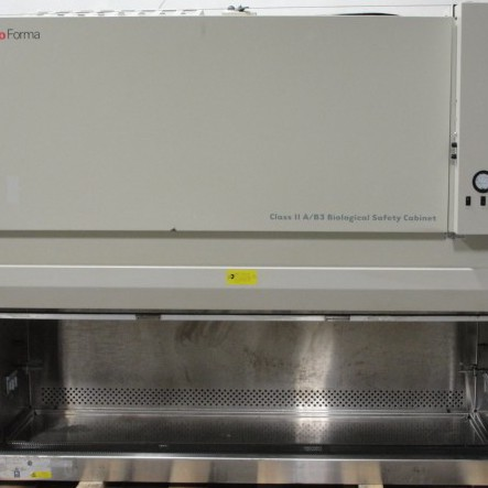 Thermo Forma Class II Biological Safety Cabinet Type A/B3, Model 1286 with base Image