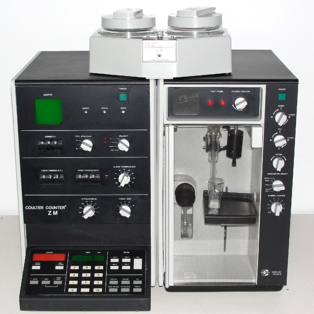 Beckman Coulter Counter ZM Particle Counter Image