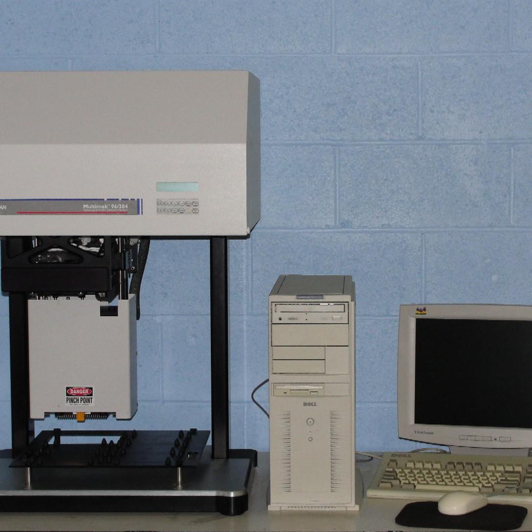 Beckman Coulter MultiMek 96/384 Pipettor Model APS6000 Image
