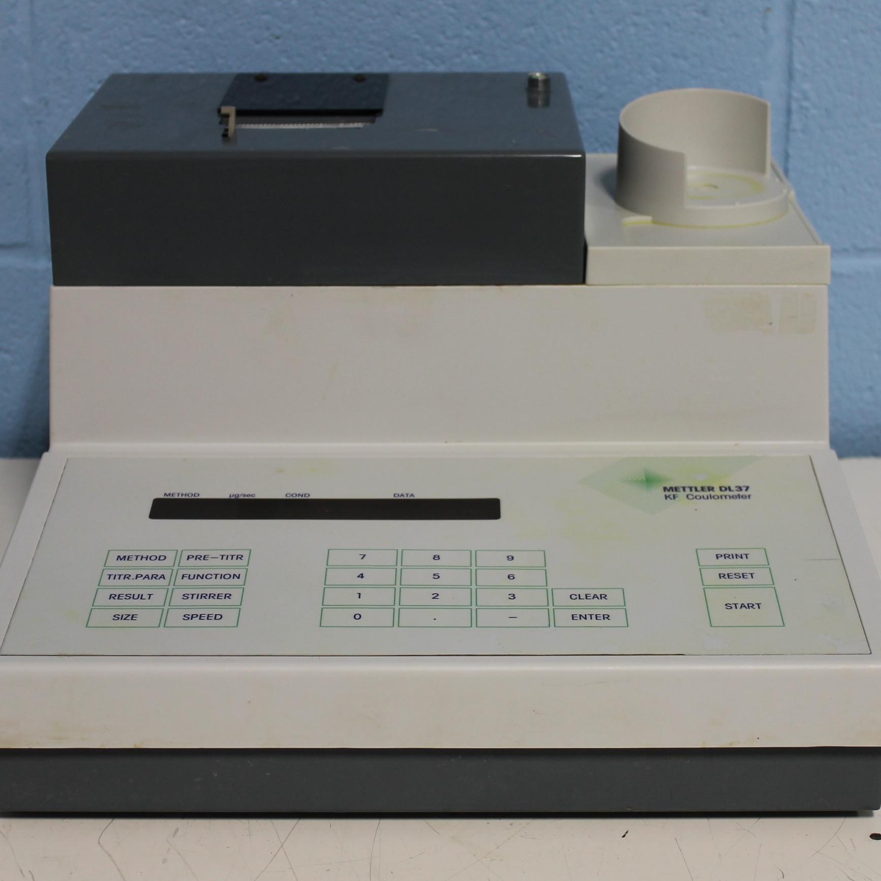 DL37 KF Coulometer