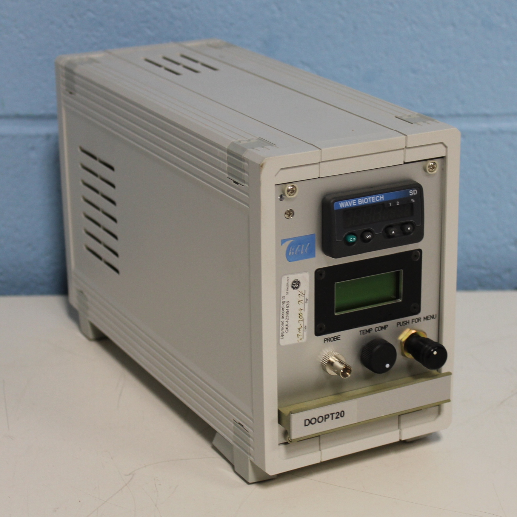 Optical Fiber Monitor : Refurbished wave biotech doopt fiber optic dissolved