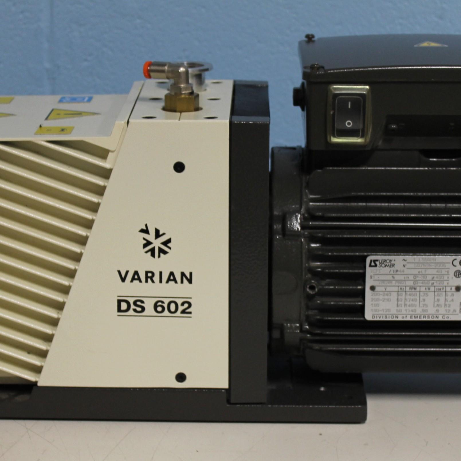 DS602 Dual Stage Rotary Vane Vacuum Pump Name