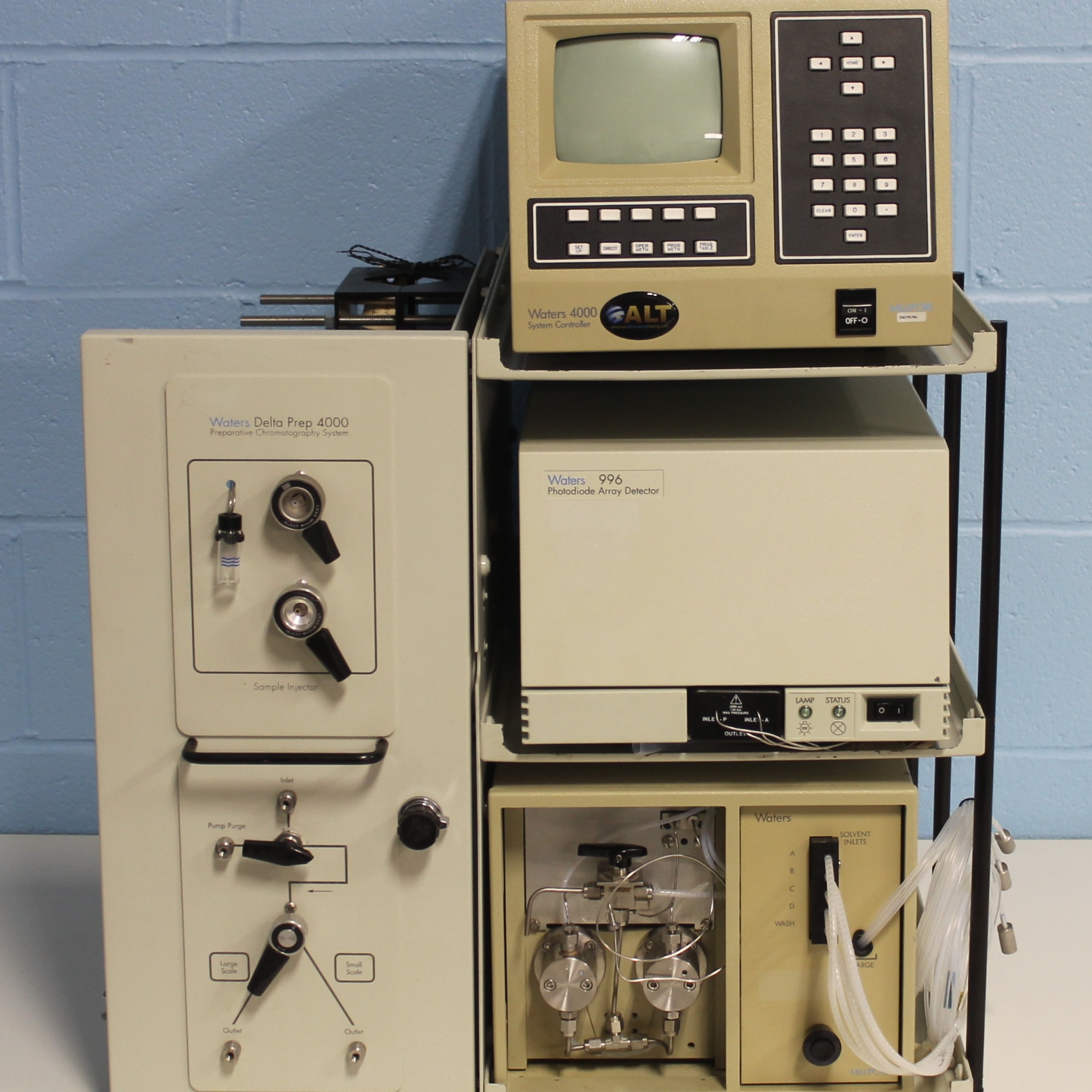 Delta Prep 4000 Preparative Chromatography System Name