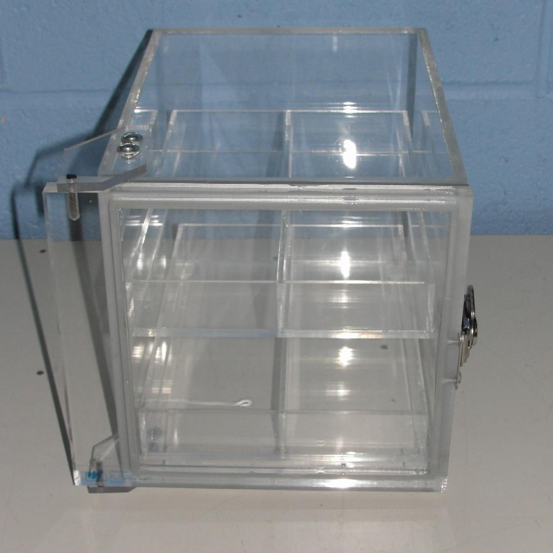 Mitchell Plastics Desiccator Cabinet 6.5x6.5x9 Image