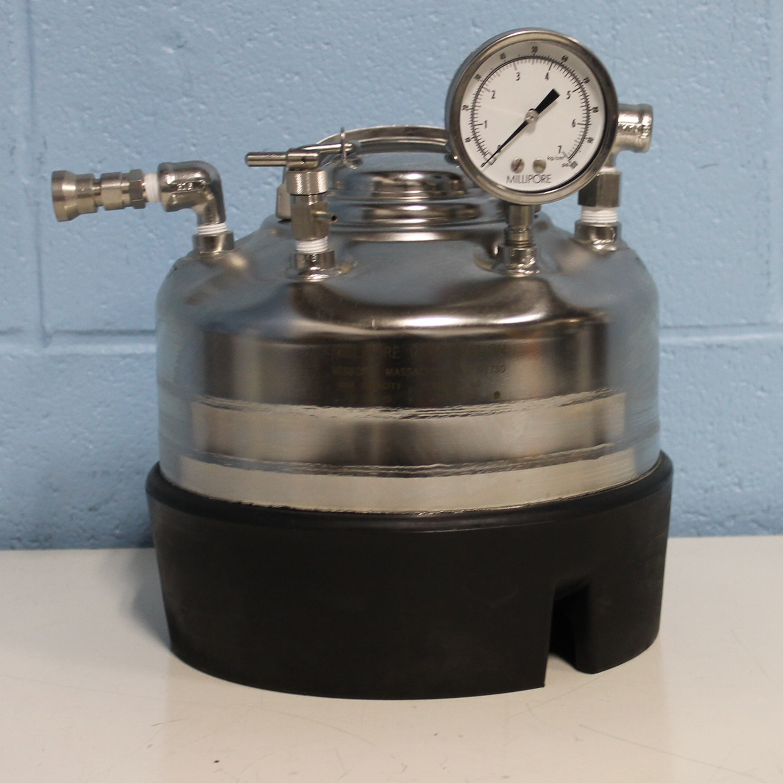 Millipore Dispensing Pressure Vessel Image