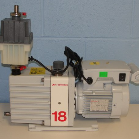 Edwards E2M18 Two Stage Rotary Vane Pump Image