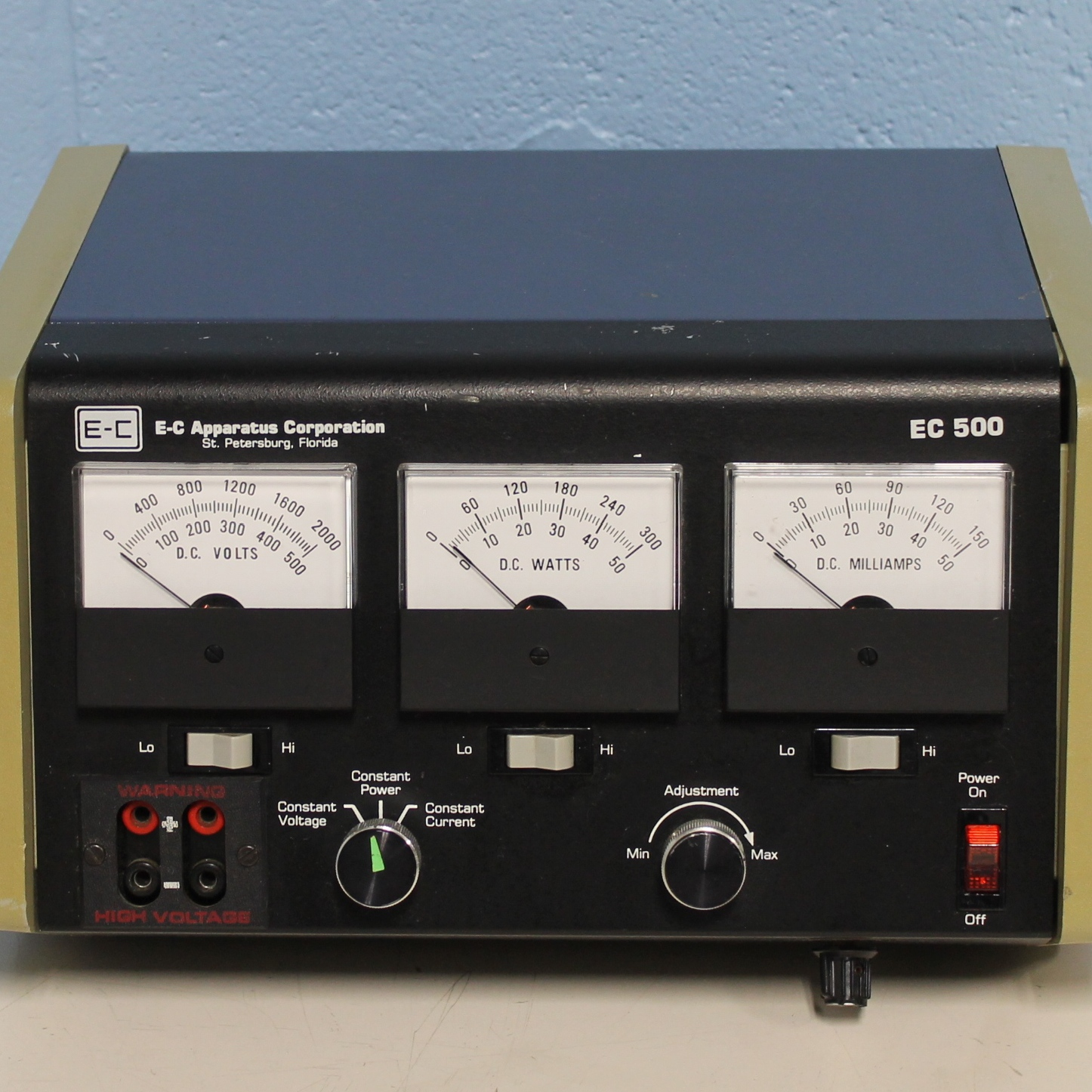 EC 500 Power Supply