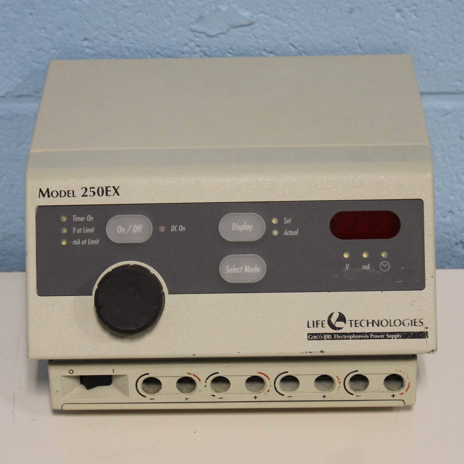 Electrophoresis Power Supply Model 250EX Name