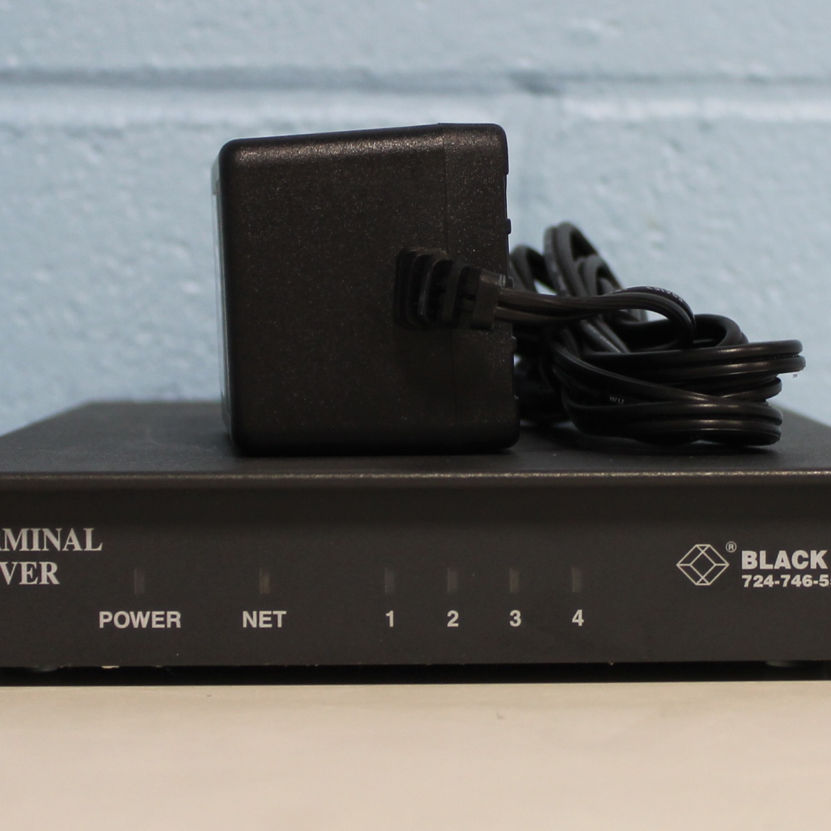 Black Box Enhanced TCP/IP Terminal Server, RJ-45 Async Image