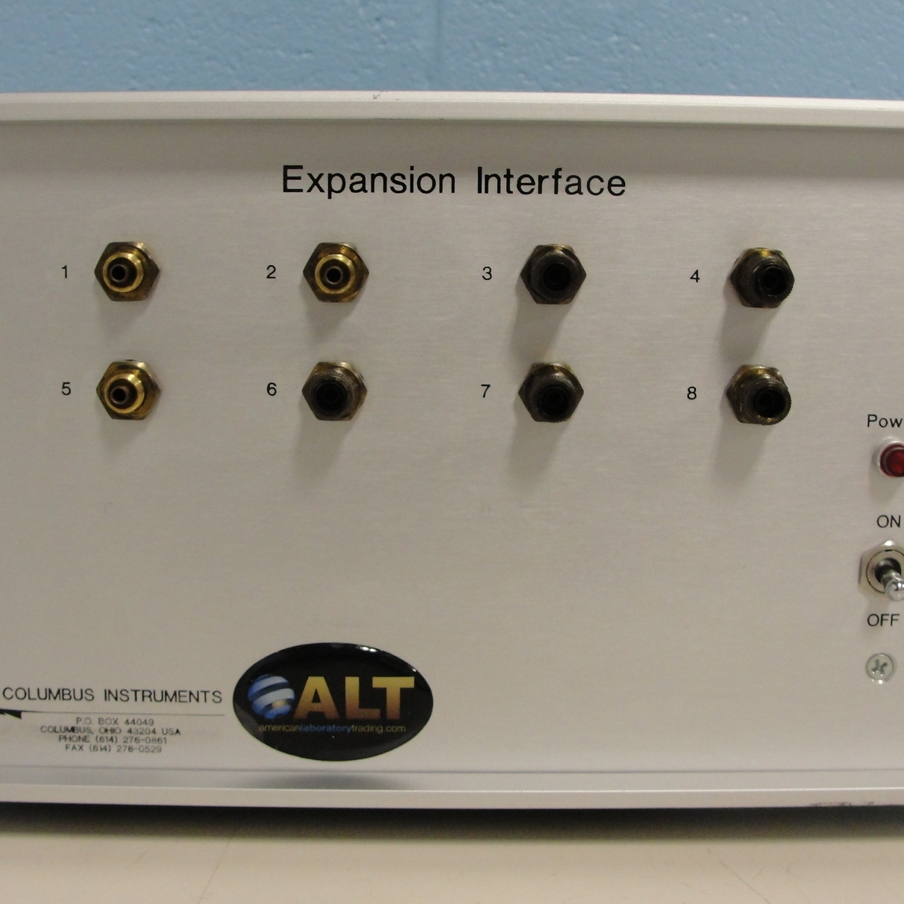 Columbus Instruments Expansion Interface Image