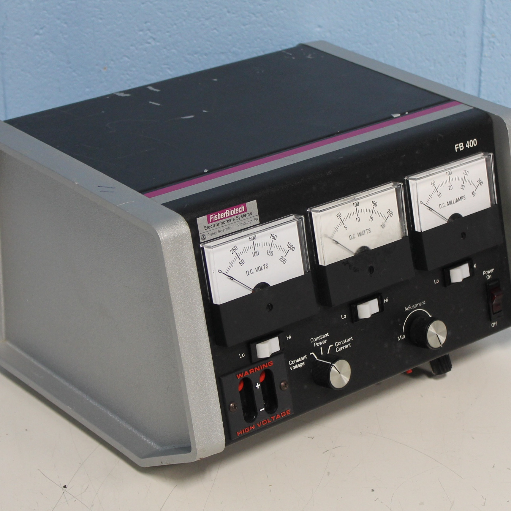 Fisher Biotech FB 400 Electrophoresis System Image