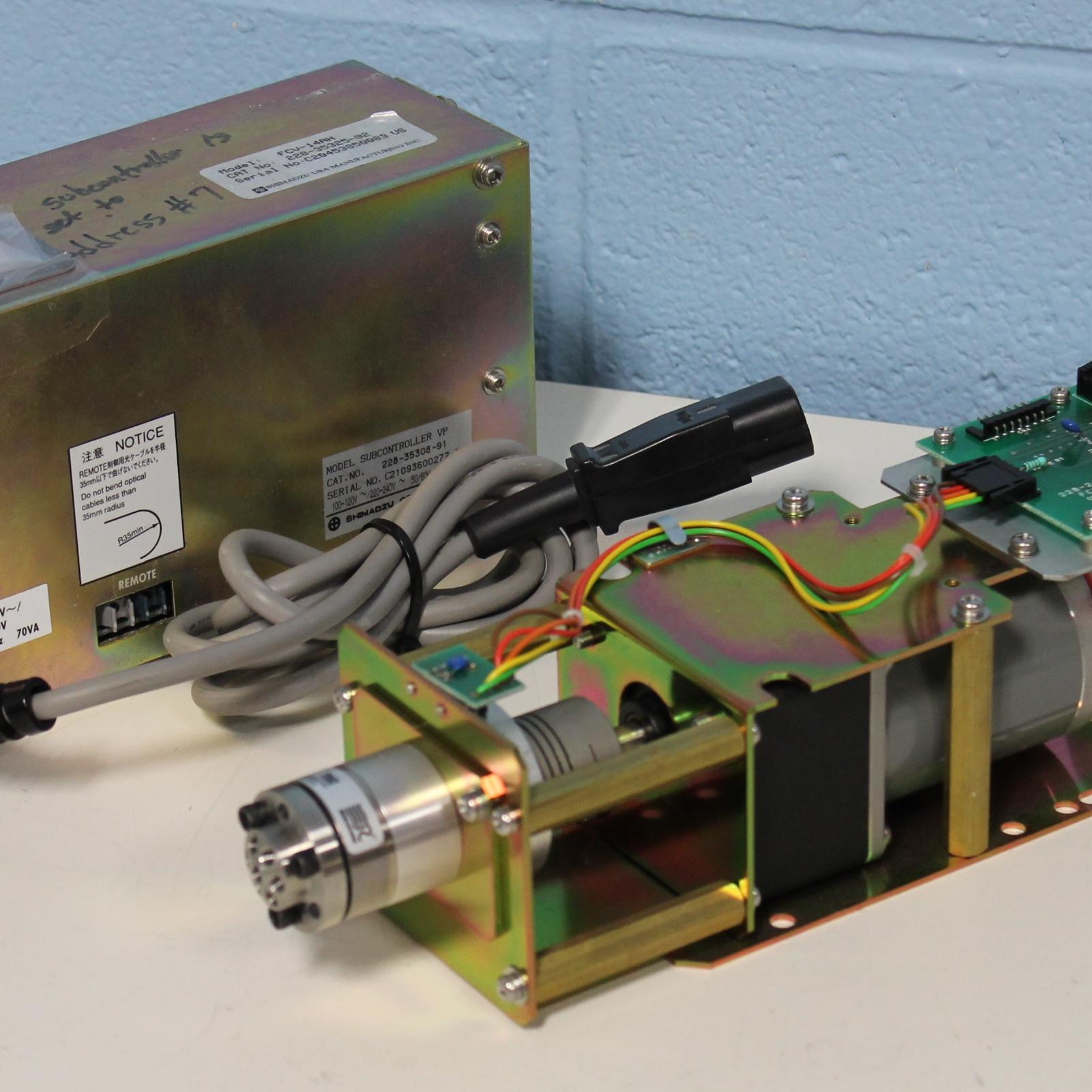 Shimadzu FCV-14AH  Controller with 7060 (14HA) Valve Image