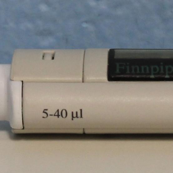 Thermo Labsystems Finnpipette 4500 Series 5-40ul Single Channel Pipette Image