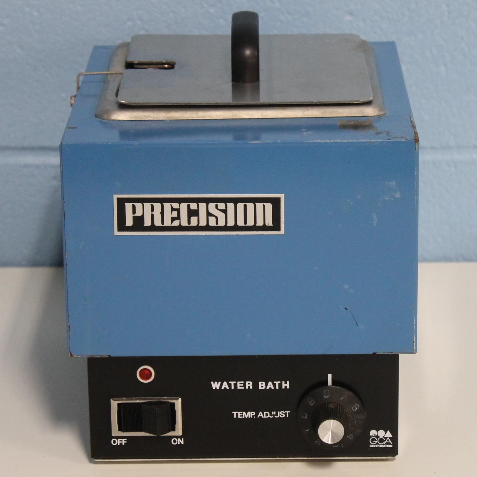Precision Scientific GCA Water Bath Model 181, CAT No. 66557/23 Image