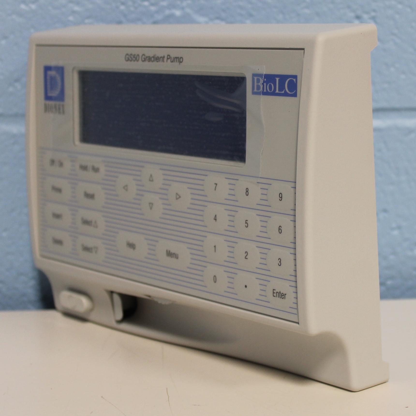 Dionex GS50 Gradient Pump Front Panel Image