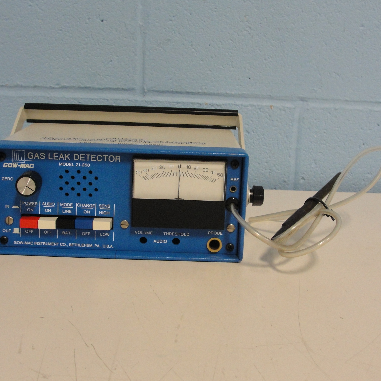 Gow-Mac Gas Leak Detector Model 21-250 Image