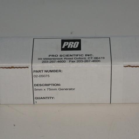 Pro Scientific Inc. Generator 5mm x 75mm Image