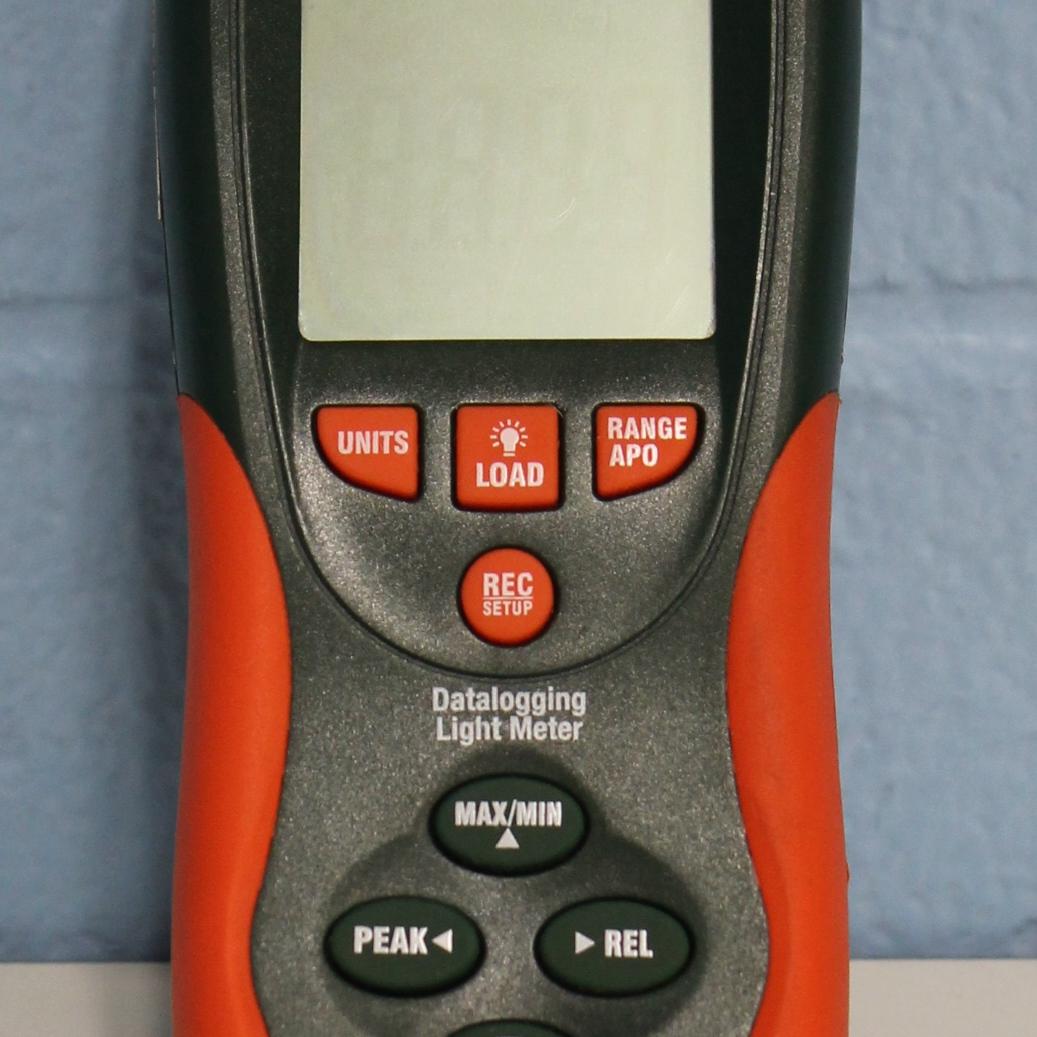 HD450 Heavy Duty Datalogging Light Meter Name
