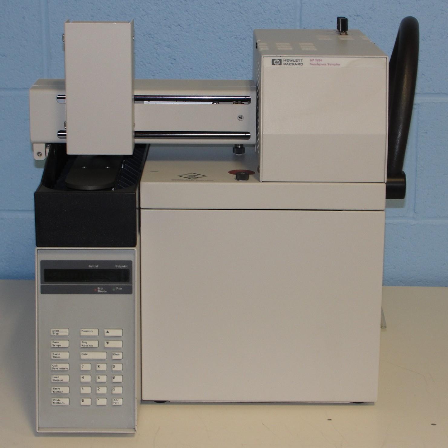 Hewlett Packard HP/Agilent 7694 Headspace AutoSampler Model G1290A Image