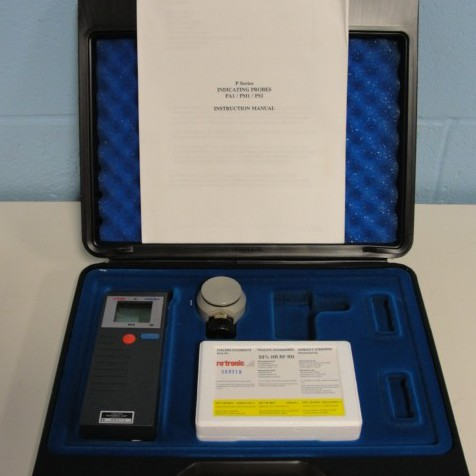 Hygromer PA-1 P Series Indicating Probe with Calibration Accessories Name