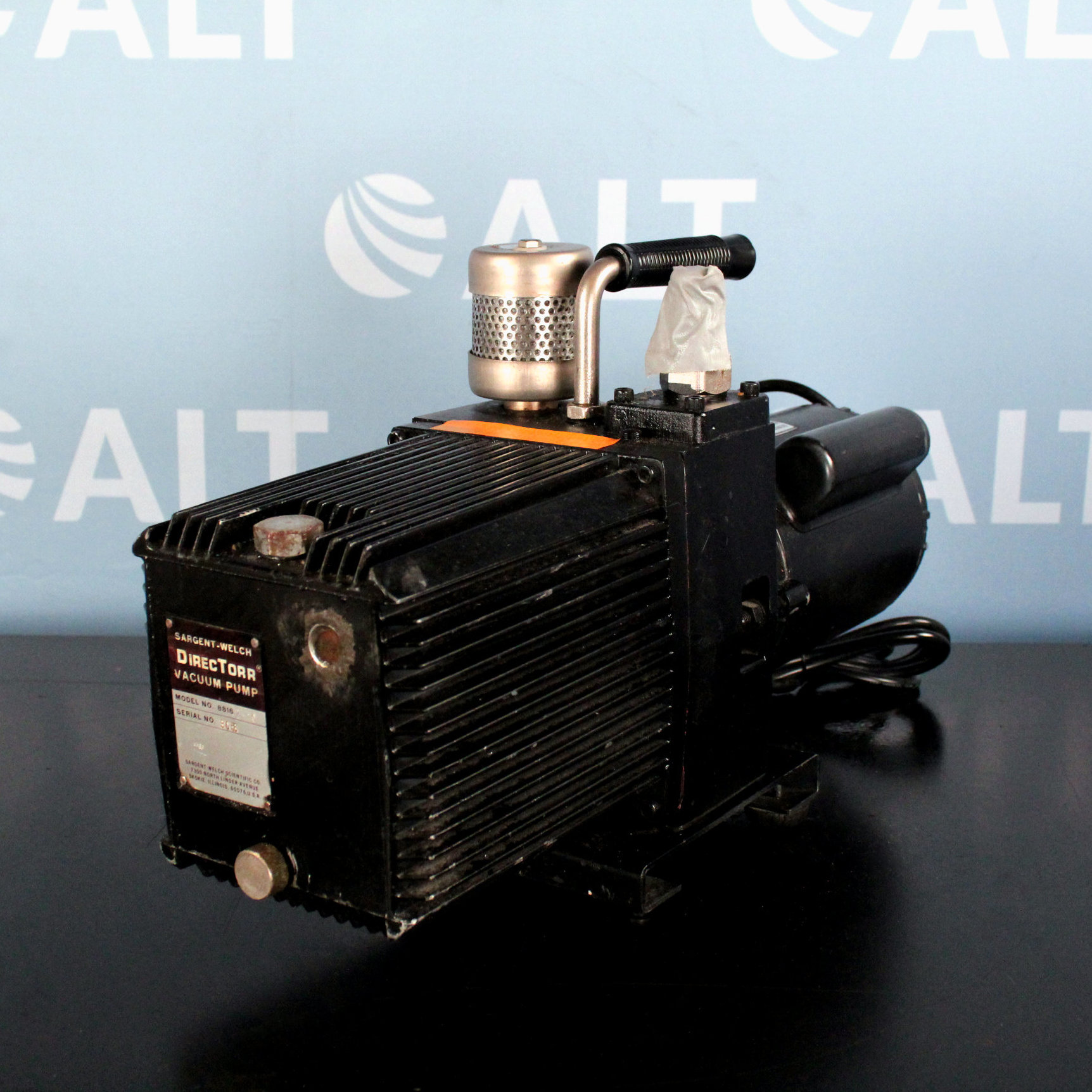 GE Healthcare Life Sciences Model 5KC37PN271X Electric Motor Image