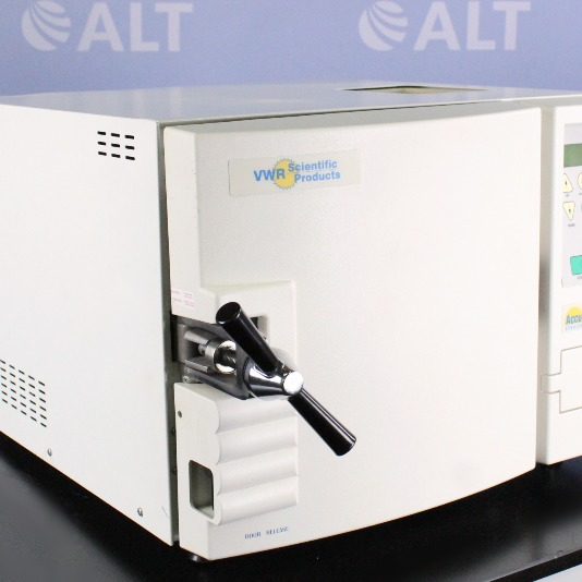 VWR AS12 ACCU Sterilizer Benchtop Steam Autoclave Image