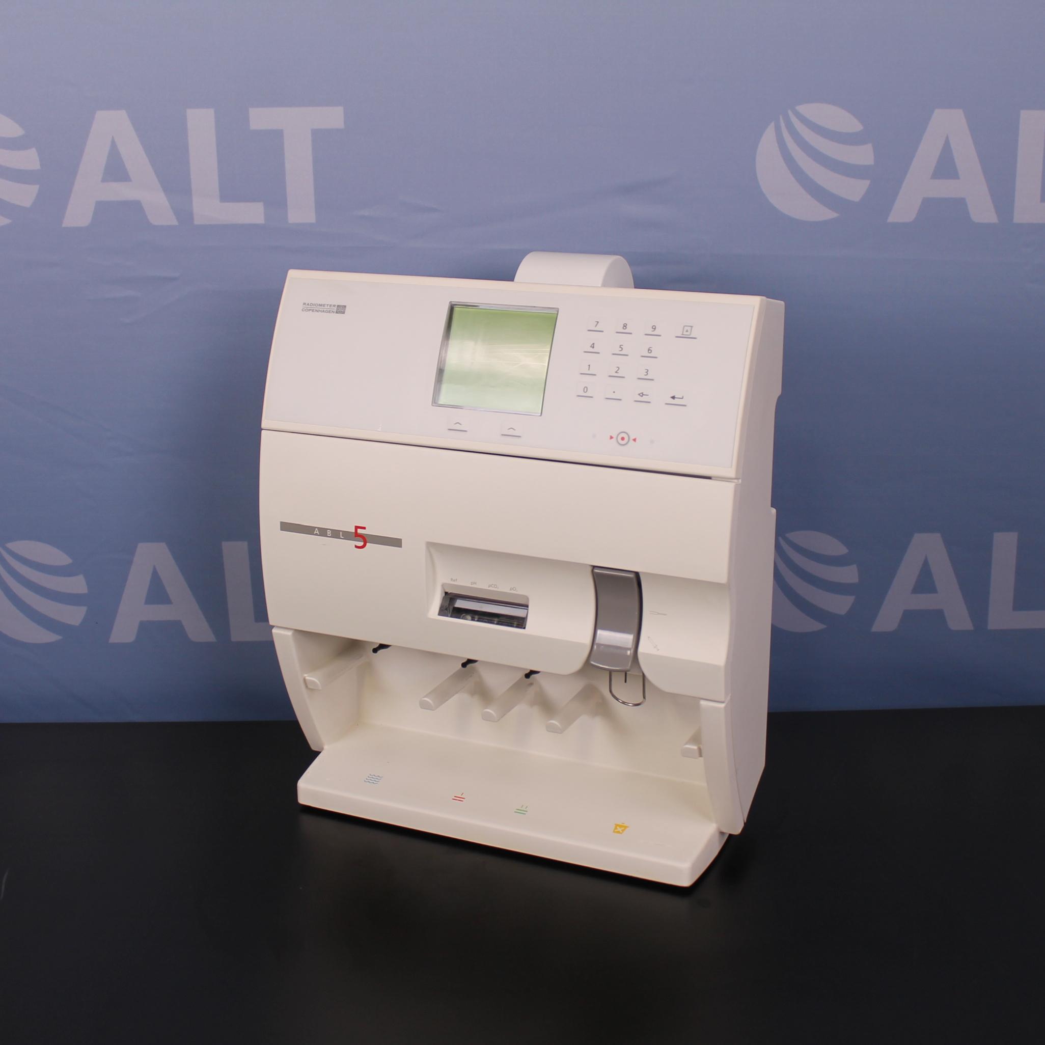 Radiometer ABL5 Blood Gas Analyzer Image