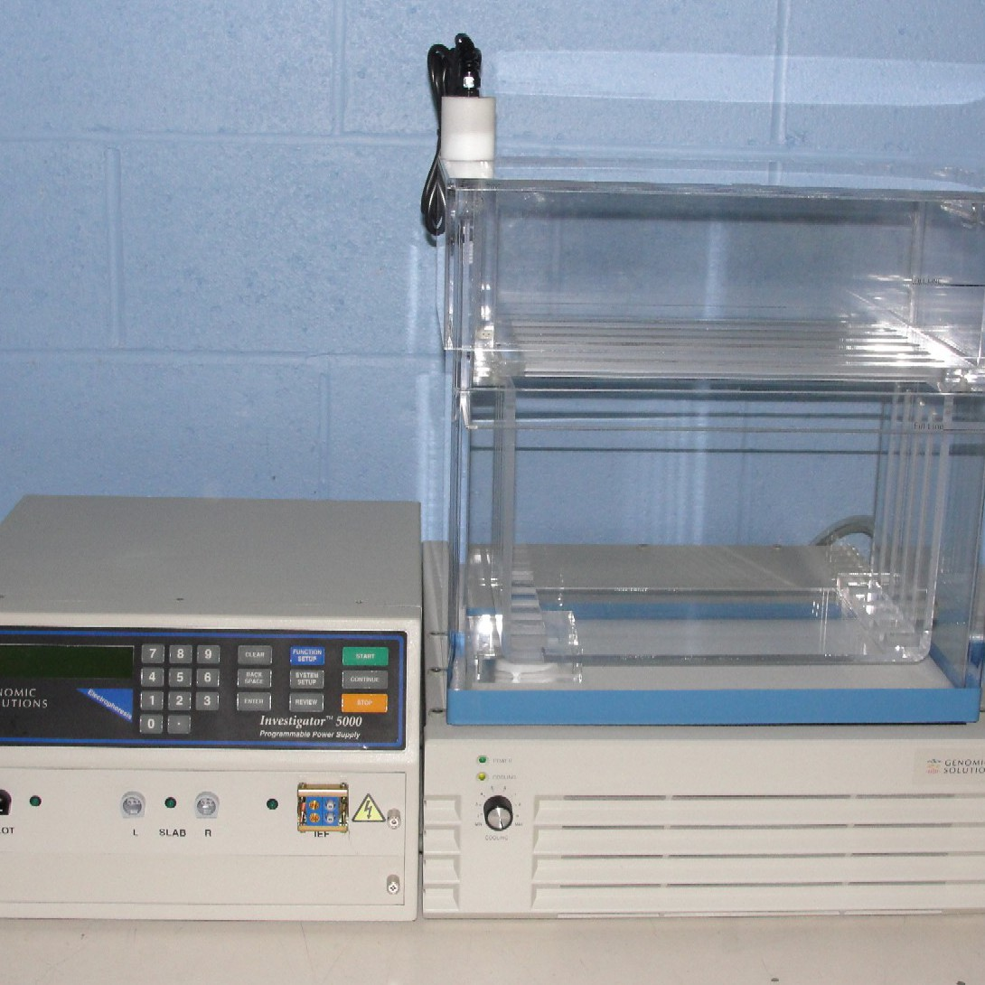 Genomic Solutions Investigator 5000 2-D Gel Electrophoresis System Image